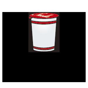 発泡スチロール製カップ